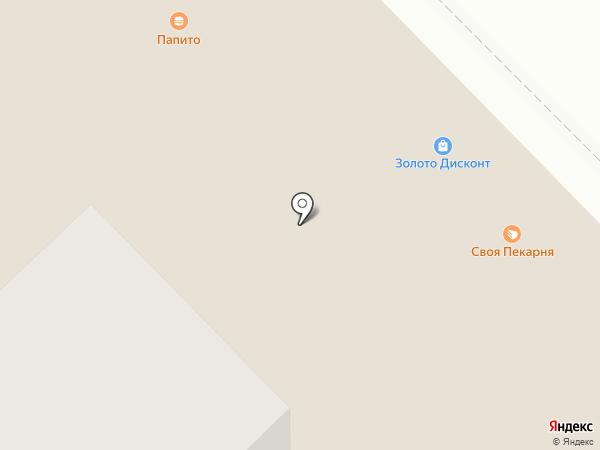 Глобус на карте Набережных Челнов