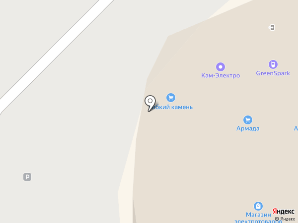 Стильные шведские обои на карте Набережных Челнов