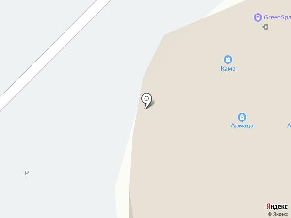 Сеть платежных терминалов на карте Набережных Челнов