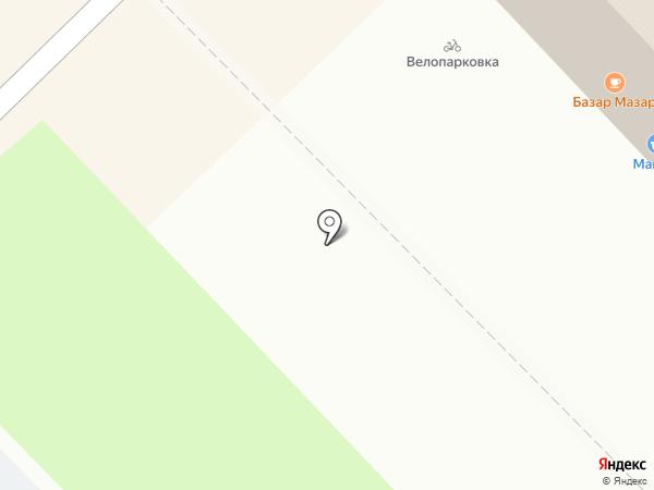 Мясной двор на карте Набережных Челнов