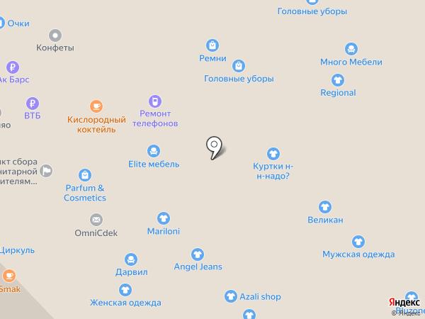 Дарвил Мебель на карте Набережных Челнов