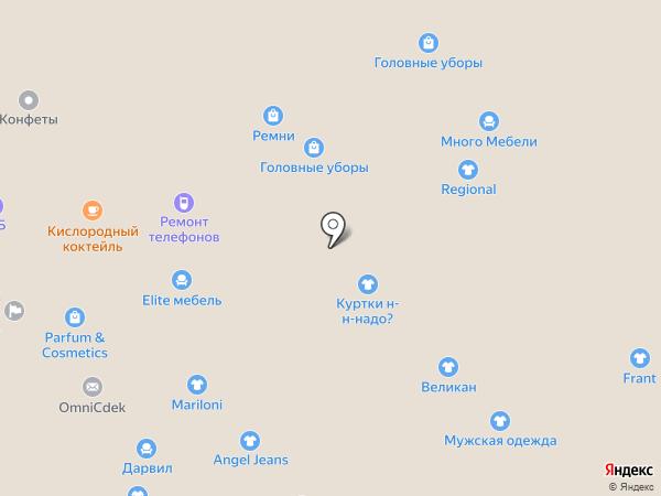 Магазин головных уборов на карте Набережных Челнов