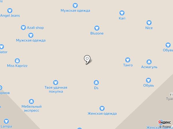 Квартал диванов на карте Набережных Челнов