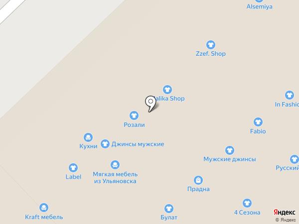 Mebelka на карте Набережных Челнов