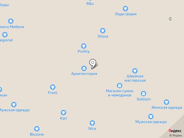 Много Мебели на карте Набережных Челнов