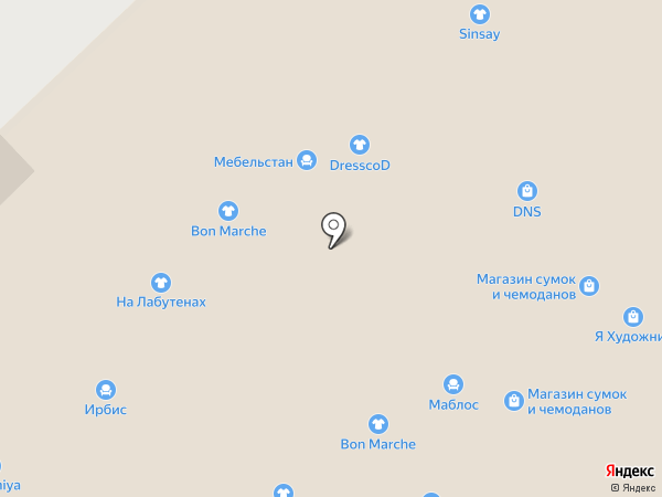 Этри мебель на карте Набережных Челнов