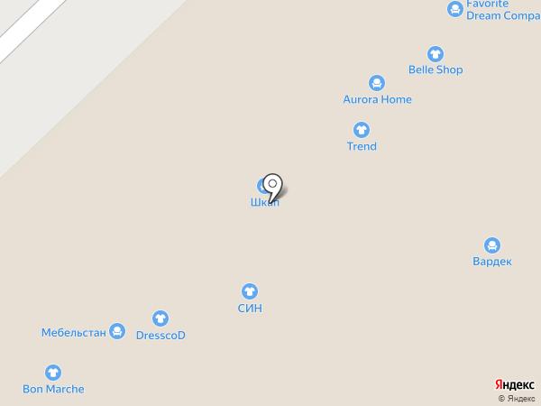 Мир зеркал на карте Набережных Челнов