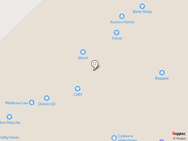 ST на карте Набережных Челнов