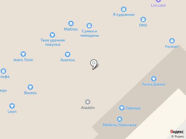 Я художник на карте Набережных Челнов