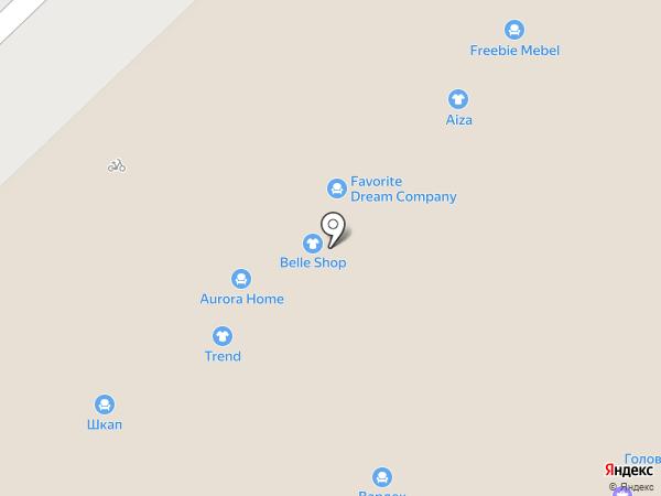Комфорт сити на карте Набережных Челнов
