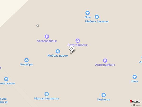 Мебель Закамья на карте Набережных Челнов