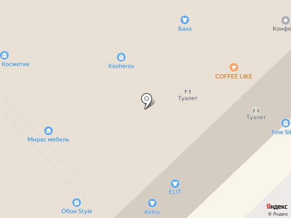 Достояние Поволжья, КПК на карте Набережных Челнов