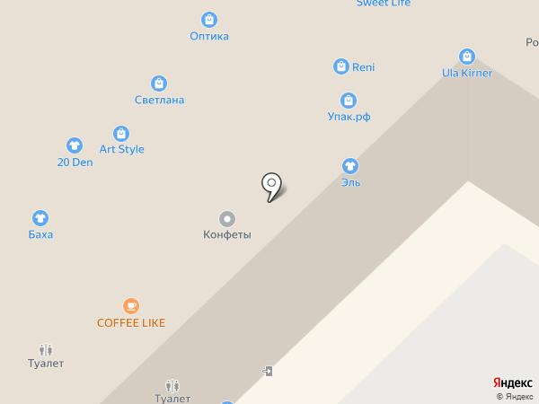 Магазин шапок и кожгалантереи на карте Набережных Челнов