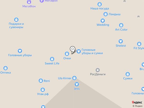 Ландыш на карте Набережных Челнов