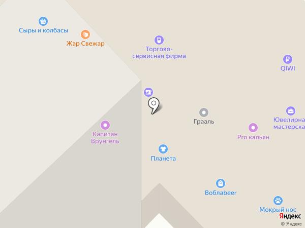 Т.ОП на карте Набережных Челнов