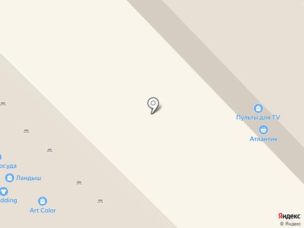 Магазин продуктов на карте Набережных Челнов