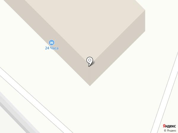 СТО на карте Набережных Челнов