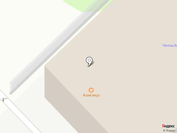 Артель С на карте Набережных Челнов