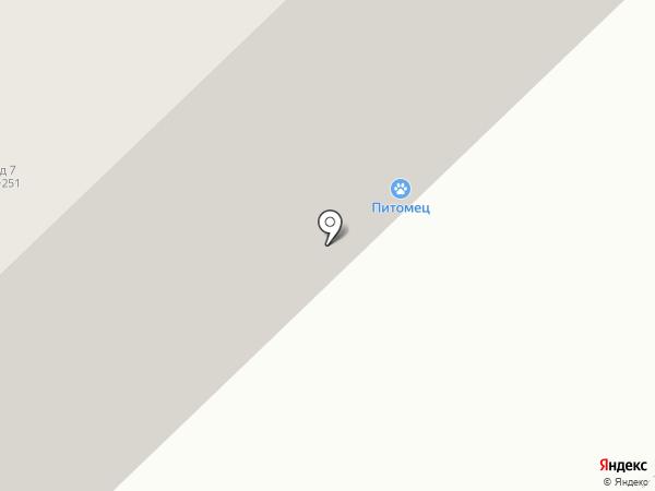 Питомец на карте Набережных Челнов