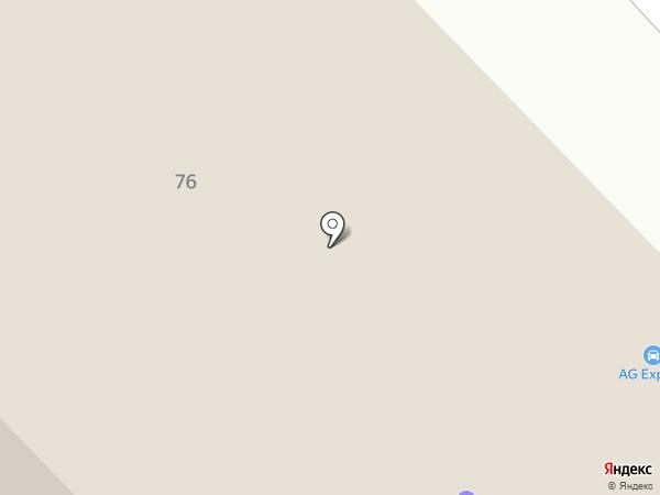 Автомолл на карте Набережных Челнов