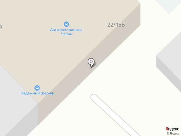 Автомойка на карте Набережных Челнов