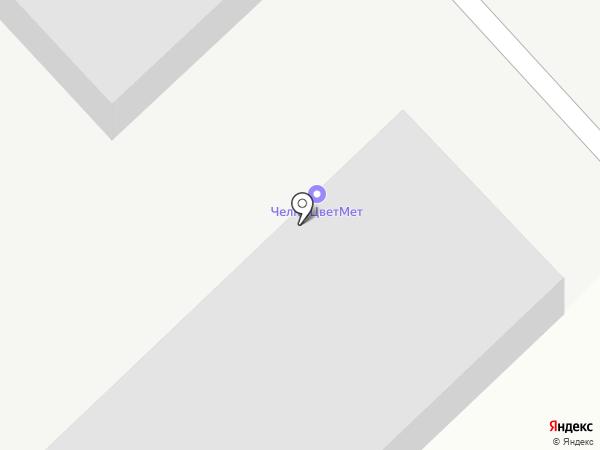 ЧелныЦветМет на карте Набережных Челнов