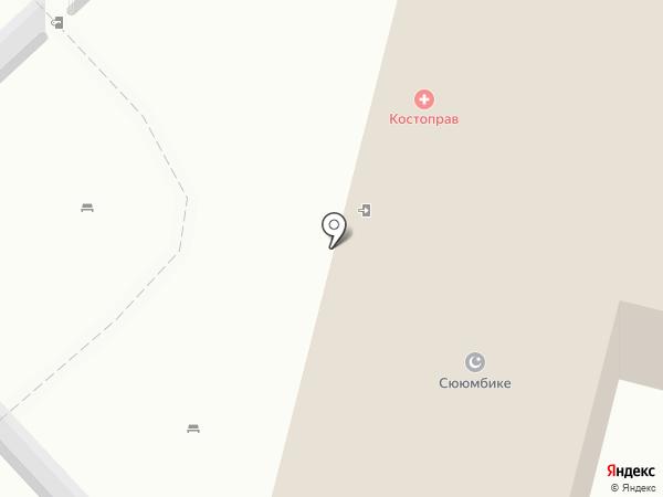 Сююмбике на карте Набережных Челнов
