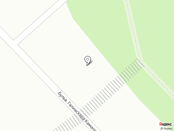 Киоск по продаже колбасных изделий на карте Набережных Челнов