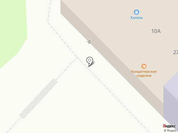 Зифа на карте Набережных Челнов