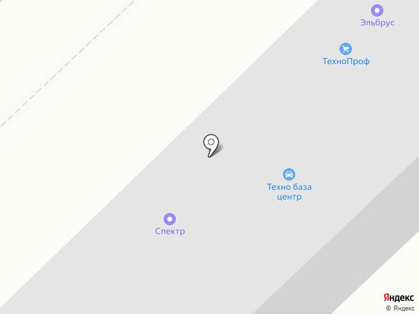 Спектр на карте Набережных Челнов