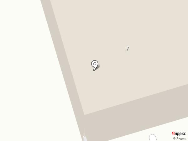 Альметьевское троллейбусное управление, МУП на карте Альметьевска