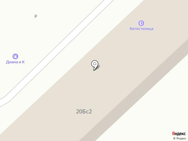 Автостолица на карте Набережных Челнов