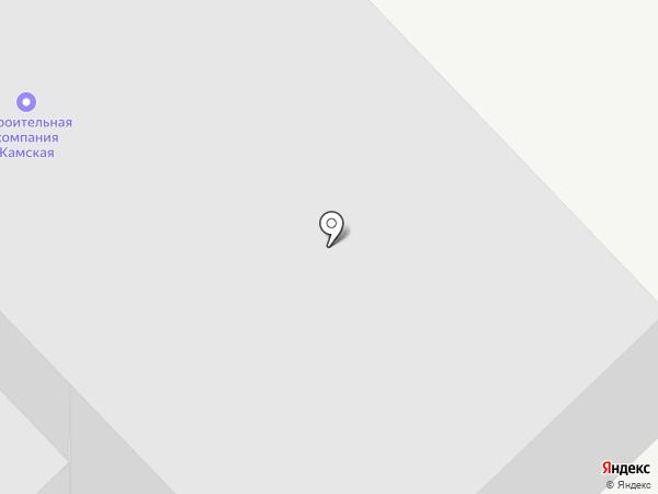 Камская Строительная Компания на карте Набережных Челнов