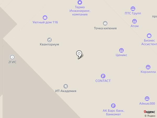 Омникомм-Регион на карте Набережных Челнов