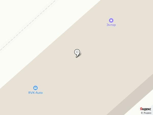 Колоритм на карте Набережных Челнов