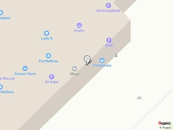 Avax на карте Набережных Челнов