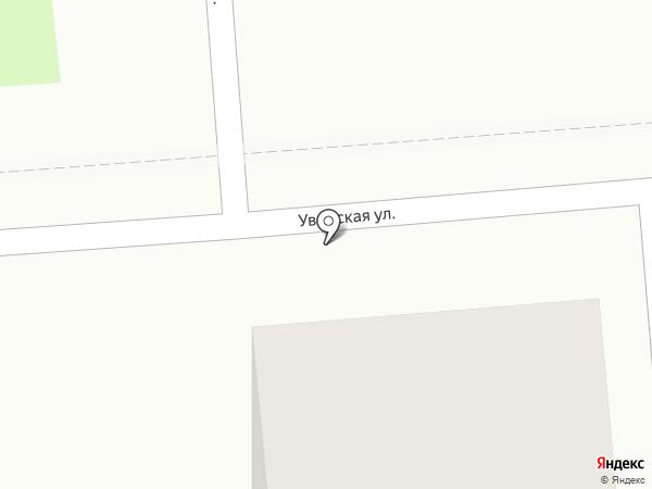 Городская клиническая больница №4 на карте Ижевска