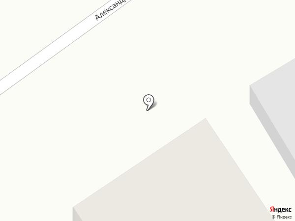 Александрия на карте Ижевска