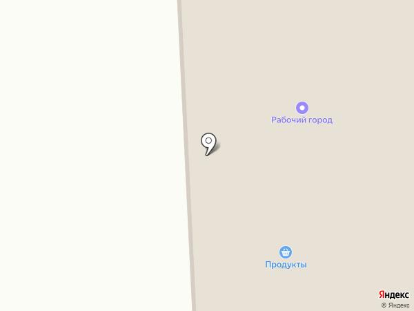 ГАЗ на карте Ижевска