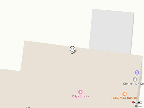 Солнечный круг на карте Ижевска