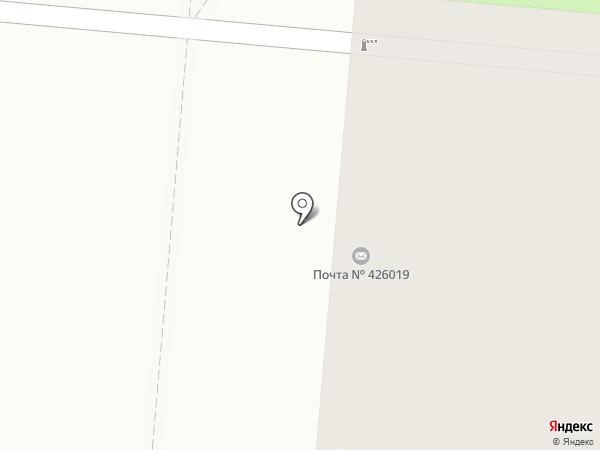 Библиотека им. Мусы Джалиля на карте Ижевска