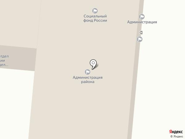 Управление социальной защиты населения в Ленинском районе г. Ижевска на карте Ижевска
