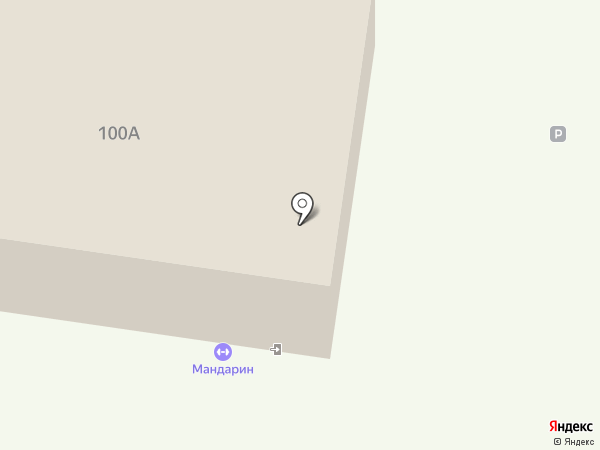 Академия начальной футбольной подготовки на карте Ижевска