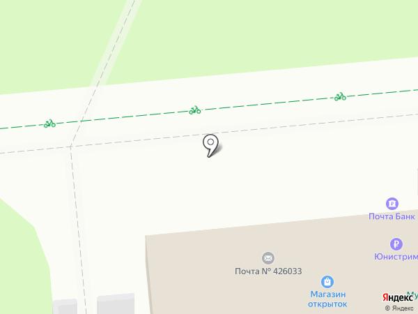 Банкомат, Почта Банк, ПАО на карте Ижевска