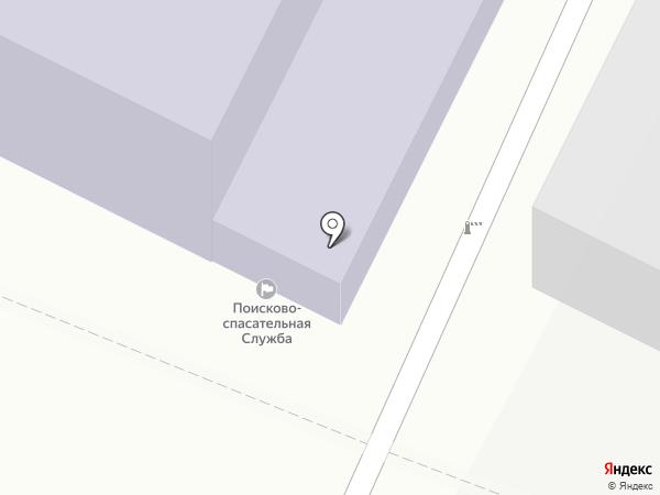 Центр подготовки спасателей и водолазов на карте Ижевска