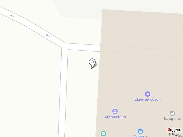 Рабочие кадры на карте Ижевска