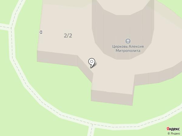 Храм Святителя Алексия на карте Ижевска