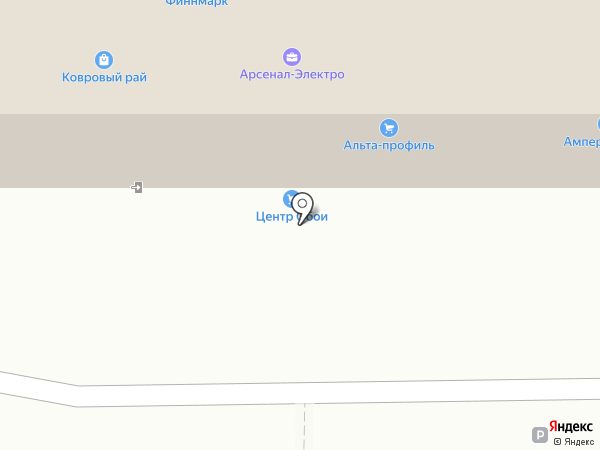 ПАРУС на карте Ижевска