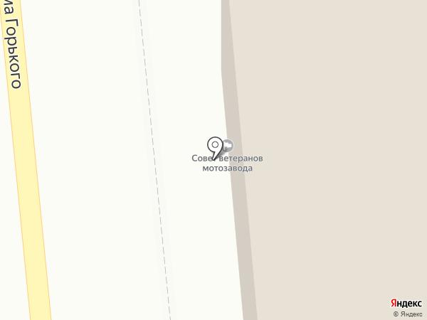 Аксион-холдинг на карте Ижевска