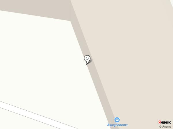 Центр Штор на карте Ижевска